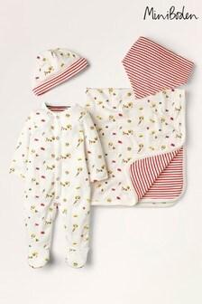 Boden Ivory Sprout Newborn Gift Set