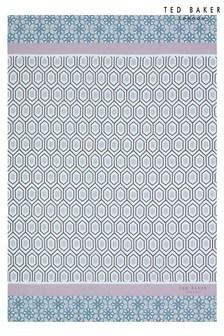 Toalla con diseño geométrico Mashup de Ted Baker