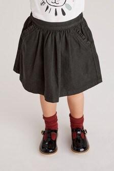 Джинсовая юбка с оборками на кармане (3 мес.-10 лет)