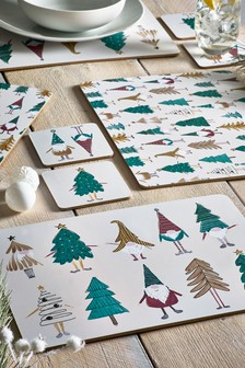 Set Of 4 Placemats And Coasters (672871)   $22