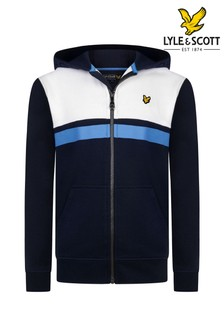 Lyle & Scott Yoke Stripe Zip Hoody