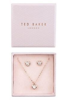 Подарочный набор украшений цвета розового золота Ted Baker Hadeya