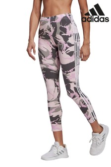 adidas Essentials 7/8-Leggings mit Camouflagemuster