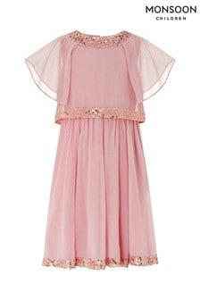 Różowa sukienka dla dzieci Monsoon Meghan