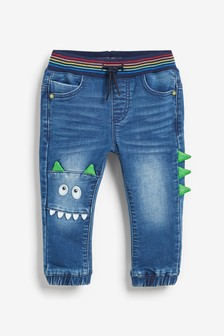 Rainbow Monster Jeans (3mths-7yrs)