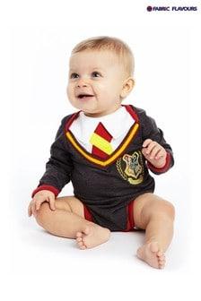 בגד גוף של Fabric Flavours דגם תלבושת Hogwarts בשלוב אפור