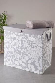 115 Litre Floral Laundry Sorter