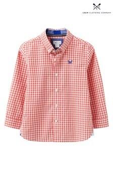 Crew Clothing Company Hemd mit Vichykaros, Rot