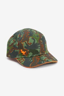 Камуфляжная кепка с динозавром (Младшего возраста)