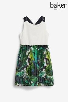Baker by Ted Baker Teenager-Mädchen Plissiertes Kleid