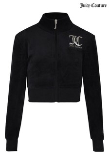Juicy Couture Velour Funnel Neck Sweater