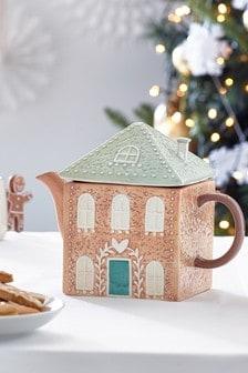 Gingerbread Tea Pot Serveware