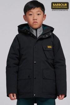 Barbour® International Black Shoreditch Showerproof Jacket