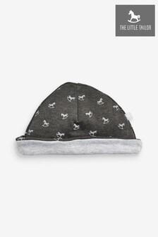 כובע מג'רזי עם הדפסים של The Little Tailor דגם Rocking Horse באפור
