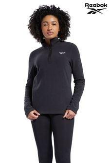 Reebok Black Fleece 1/2 Zip Sweatshirt