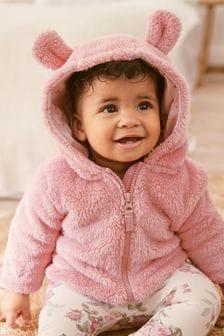 刷毛連帽外套 (0個月至2歲)