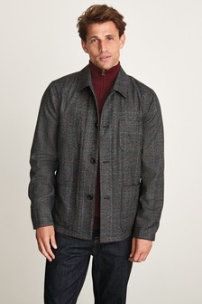 Check Worker Jacket (677060) | $82