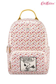 Cath Kidston® Snoopy Tiny Rose Pocket Backpack