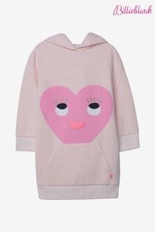 Billieblush Pink Heart Hoody Dress