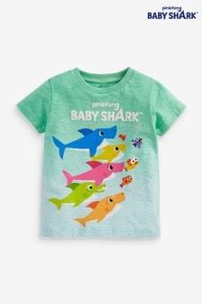 تي شيرت صباغة بالربط Baby Shark (3 شهور -7 سنوات)