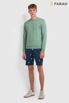 Farah Green Tim Sweater