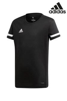 Čierne športové tričko adidas