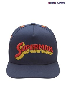 Fabric Flavours Navy Superman Logo Cap