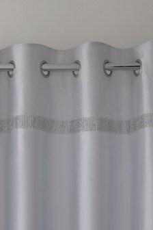 Harper Gem faux selyem fűzőlyukak függöny