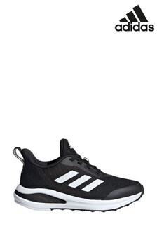 Черные/белые беговые кроссовки для подростков adidas FortaRun