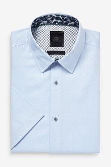 Shirt With Printed Trim Detail