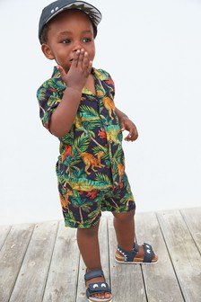 Shirt And Shorts Set (3mths-7yrs)