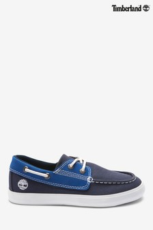 Timberland® Navy Newport Bay Boat Shoes