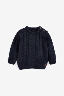 Cable Crew Jumper (3mths-7yrs)