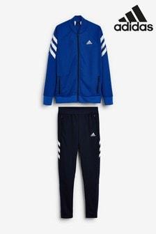 adidas - Blauw/zwart XFG trainingspak