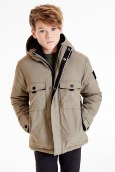 Куртка-анорак с карманами (3-16 лет)