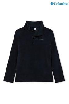 Columbia Black Glacial Half Zip Fleece