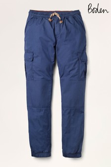 Boden Navy Lined Utility Cargo Joggers