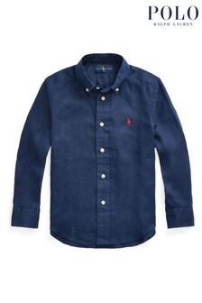 Ralph Lauren Navy Logo Shirt