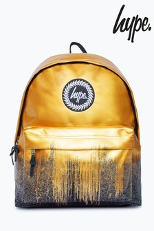 Hype. Gold Drip Backpack