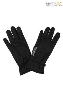 Regatta Black Touchtip Tech Extol Gloves