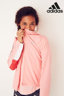 adidas Pink Own The Run Windbreaker Jacket