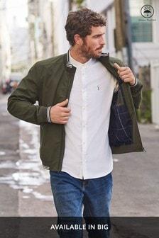 Куртка с воротником хомутом и отделкой