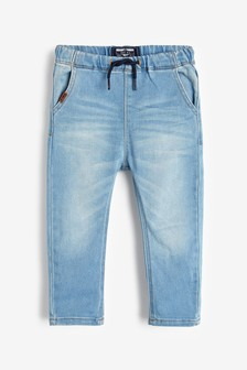 Super Soft Pull-On Jeans With Stretch (3 mesi - 7 anni)