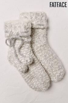 Chaussettes de nuit FatFace naturelles duveteuses