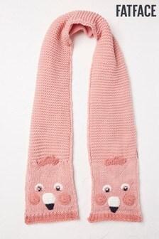 FatFace Pink Flamingo Scarf