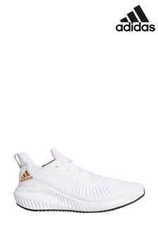 adidas Run White AlphaBounce Trainers