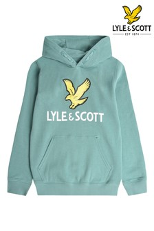 Lyle & Scott Blue Eagle Logo Hoody