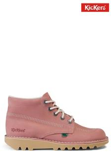 Kickers Pink Kick Hi Shoes