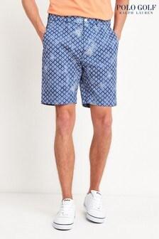 Polo Ralph Lauren Golf Chino-Shorts mit Waschung, Blau