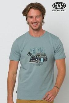 Animal Lead Grey Trip Graphic T-Shirt